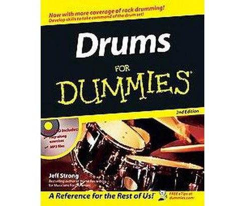 Drums for Dummies (Paperback) (Jeff Strong) - image 1 of 1
