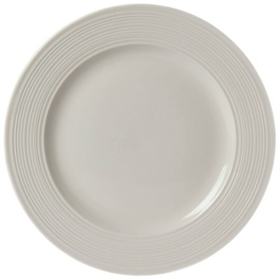 12pc Porcelain Embossed Contempo Dinnerware Set - Tabletops Gallery