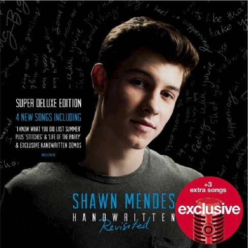 Shawn Mendes - Handwritten Revisted - Target Exclusive - image 1 of 1