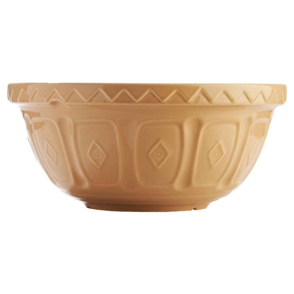 "Image of ""Mason Cash 11"""" Earthenware Mixing Bowl - Cane, Beige"""