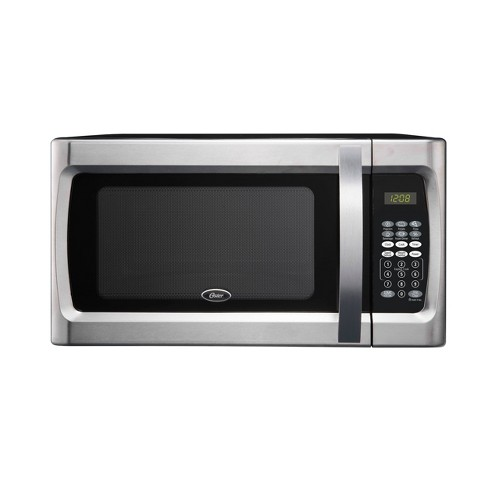 Oster 1.3 cu ft 1100 Watt Microwave Oven - Stainless Steel - OGZF1301 - image 1 of 4