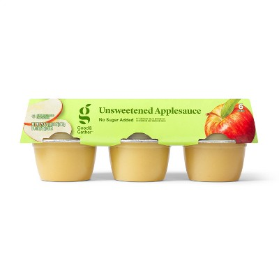 Unsweetened Applesauce Cups - 6ct - Good & Gather™