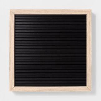 12u0022x 12u0022 Letterboard Black - Room Essentials™