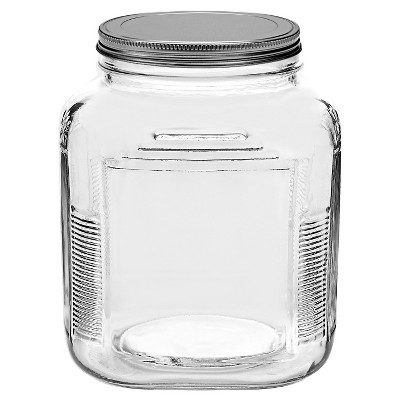 Anchor Hocking Glass Cracker Jar 2qt