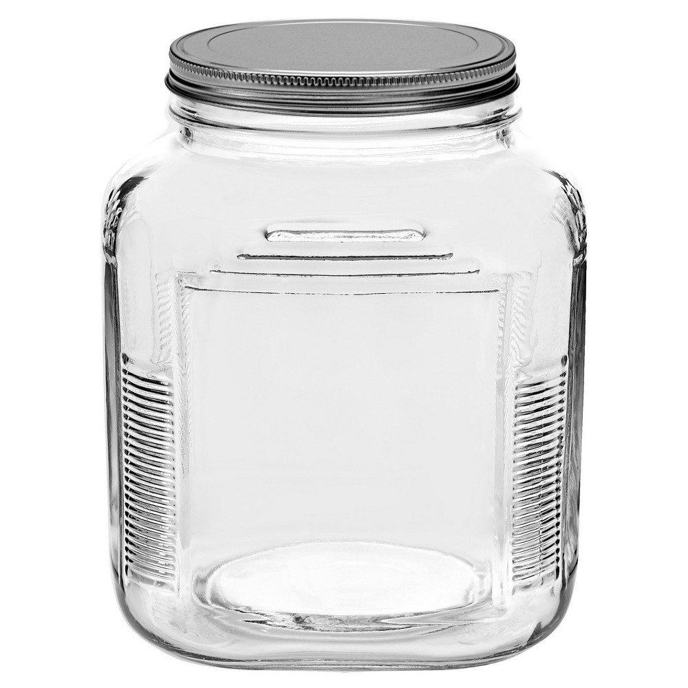 Image of Anchor Hocking Glass Cracker Jar 2qt, Clear