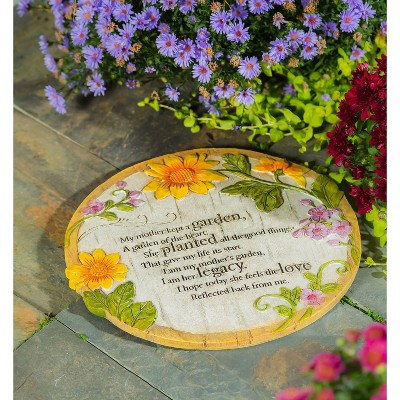Evergreen Mother Memorial Wishgivers Garden Stone