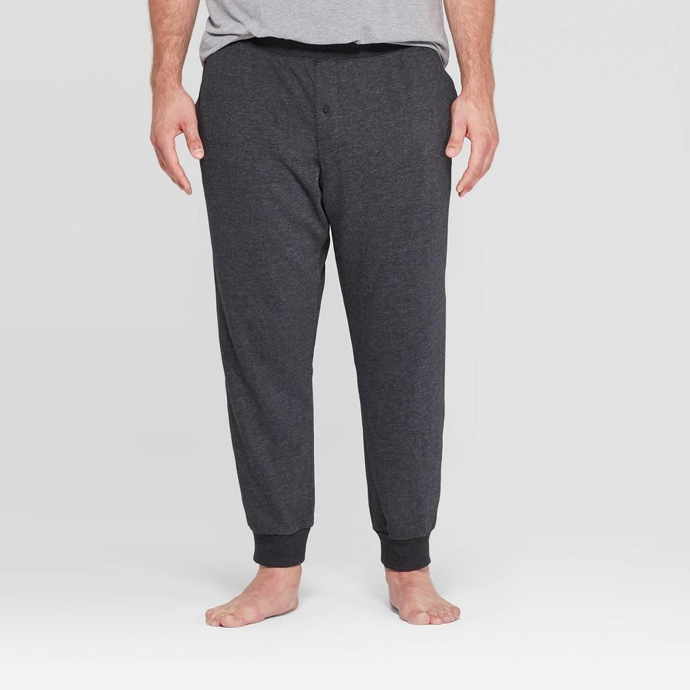 Men 39 S Big 38 Tall Knit Jogger Pajama Pants Goodfellow 38 Co 8482 Black 3xb