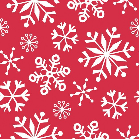 3ct snowman and snowflakes merry christmas wrapping paper target