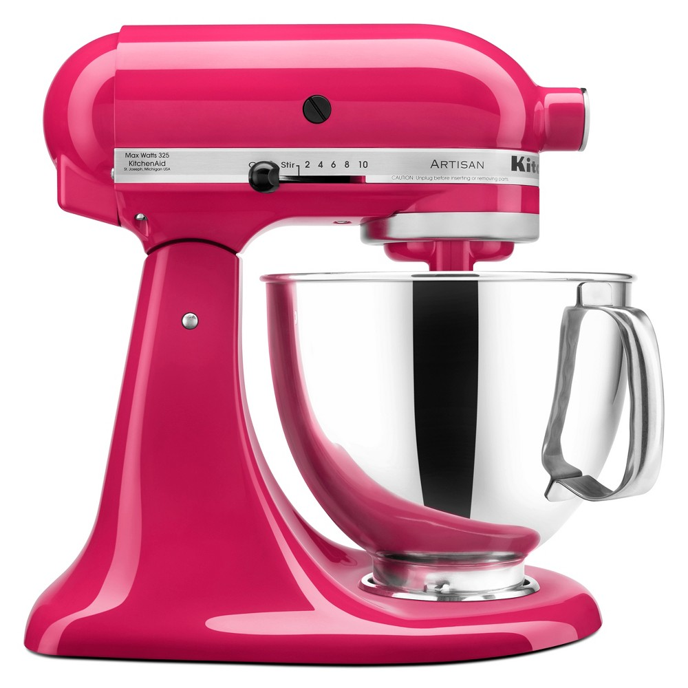 KitchenAid Refurbished Artisan Series Stand Mixer – Cranberry (Red) RRK150BC 53499018