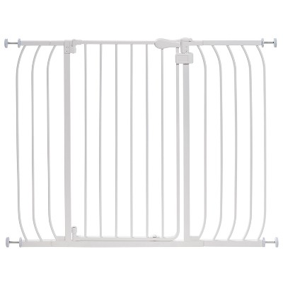 Summer Infant Multi-Use Extra-Tall Walk-Thru Gate - White Metal