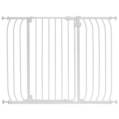 Summer Infant Multi-Use Extra-Tall Walk-Thru Gate - White Metal - image 1 of 6