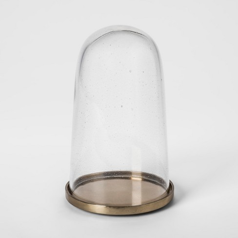 Cloche with Gold Base