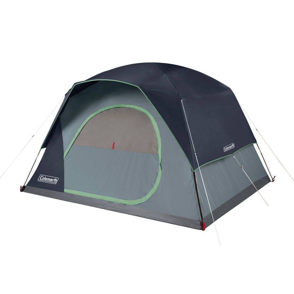 Coleman Skydome 6 Person Blue Nights Tent Blue