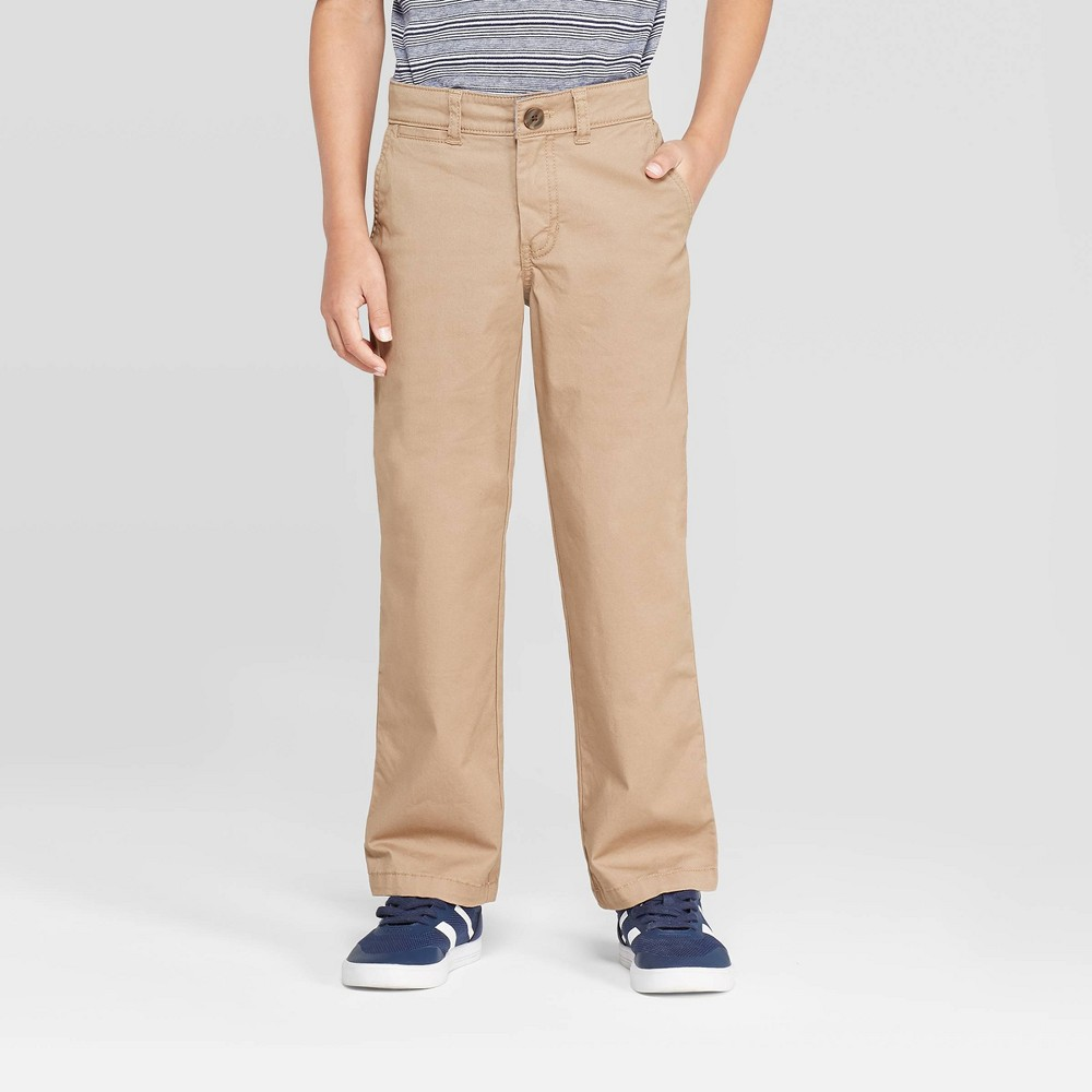 Image of Boys' Chino Pants - Cat & Jack Beige 7, Boy's