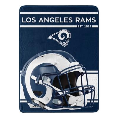NFL Los Angeles Rams Micro Fleece Throw Blanket