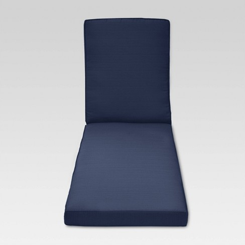 Belvedere Replacement Outdoor Chaise Lounge Cushion - Threshold™ - image 1 of 3