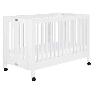 Babyletto Maki Full-Size Folding Crib With Toddler Bed Conversion Kit