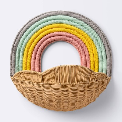 Hanging Wall Storage Rainbow Basket - Cloud Island™