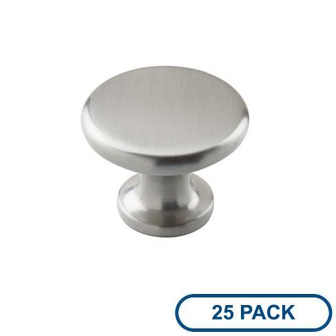 """Amerock BP29115-25PACK Allison Value 1-1/2"""" Diameter Mushroom Cabinet Knob - Package of 25 - image 1 of 4"""