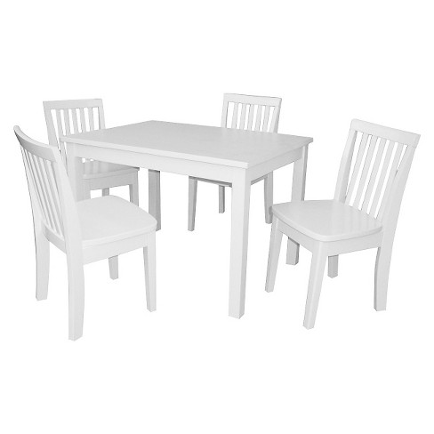 Kids Table with Four Mission Chairs - International Concepts - image 1 of 1