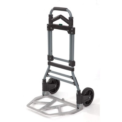 Liberty Industrial 10002 Easy Travel Folding Luggage Hand Truck Cart Aluminum Construction w/Grips Hand Truck