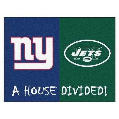 "NFL House Divided Rug 33.75""x42.5"""