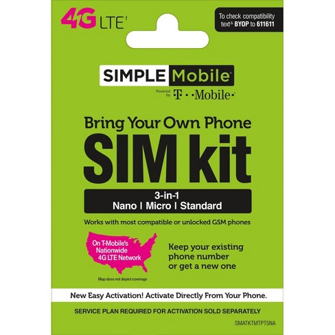 Simple Mobile SIM Kit - image 1 of 1