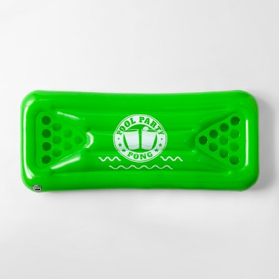 Party Pong Pool Float Green - Sun Squad™