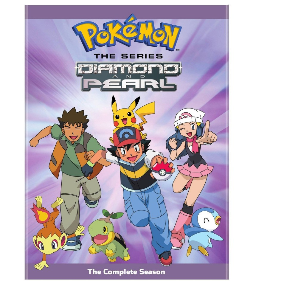 Pokemon Diamond And Pearl Complete Collection Dvd