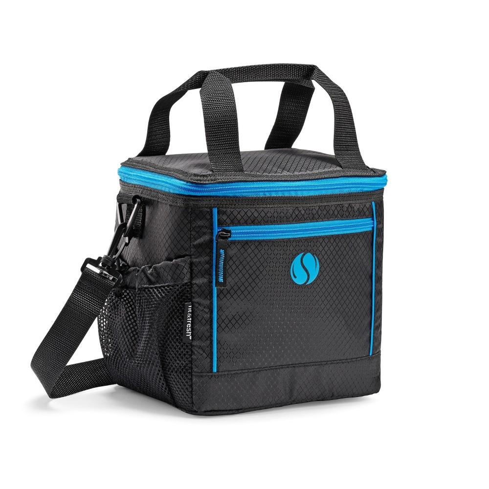 Image of Fit & Fresh Sport Cooler Lunch Kit - Blue, Black