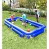 HearthSong Inflatable Soccer Pool Backyard Game for Kids and Adults, Includes Seven Inflatable Balls - image 3 of 4