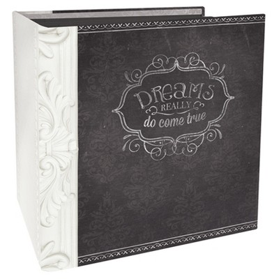 Paper House® Book-Bound Scrapbook - Wedding Dreams