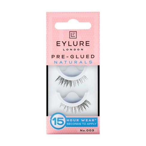 Eylure False Eyelashes Pre-Glued Naturals No. 003 - 1pr - image 1 of 4