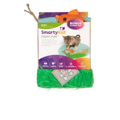 SmartKat Fishy Fun Play Mat Cat Toy