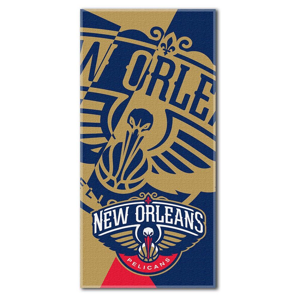 New Orleans Pelicans Northwest Puzzle Beach Towel