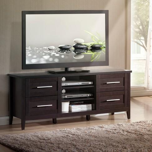 70 Elegant Tv Stand With Storage Espresso Brown Techni Mobili