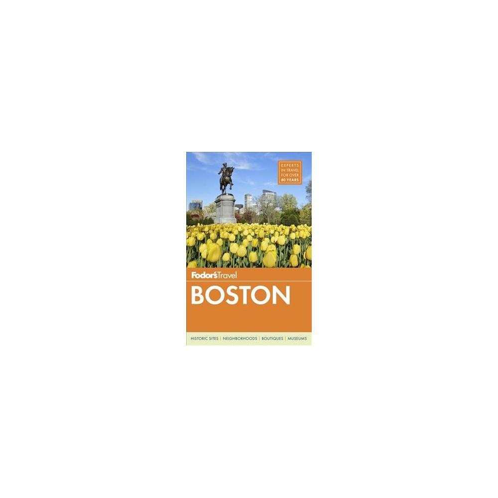 Fodor's Boston (Paperback) (Victoria Abbott Riccardi & Kim Foley Mackinnon & Megan Johnson)