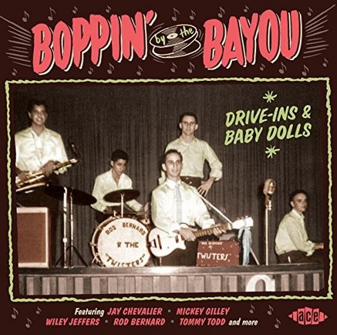 Various - Boppin By The Bayou:Drive Ins & Baby (CD) - image 1 of 1
