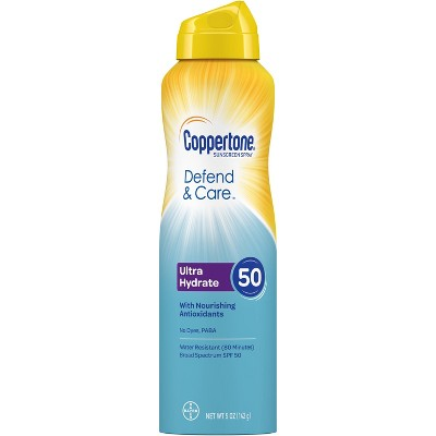 Sunscreen & Tanning: Coppertone Defend & Care