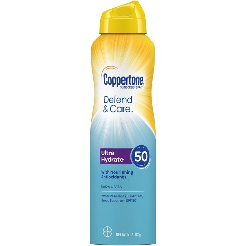 Coppertone Clearly Sheer C-Sunscreen Spray - SPF 50 - 5oz - image 1 of 4