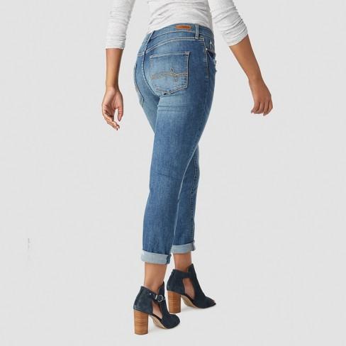 81483297 DENIZEN® From Levi's® Women's Mid-Rise Modern Slim Cuffed Jeans : Target