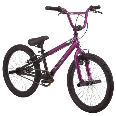 """Mongoose 20"""" Bicycle with Pegs - Purple/Black - image 1 of 4"""