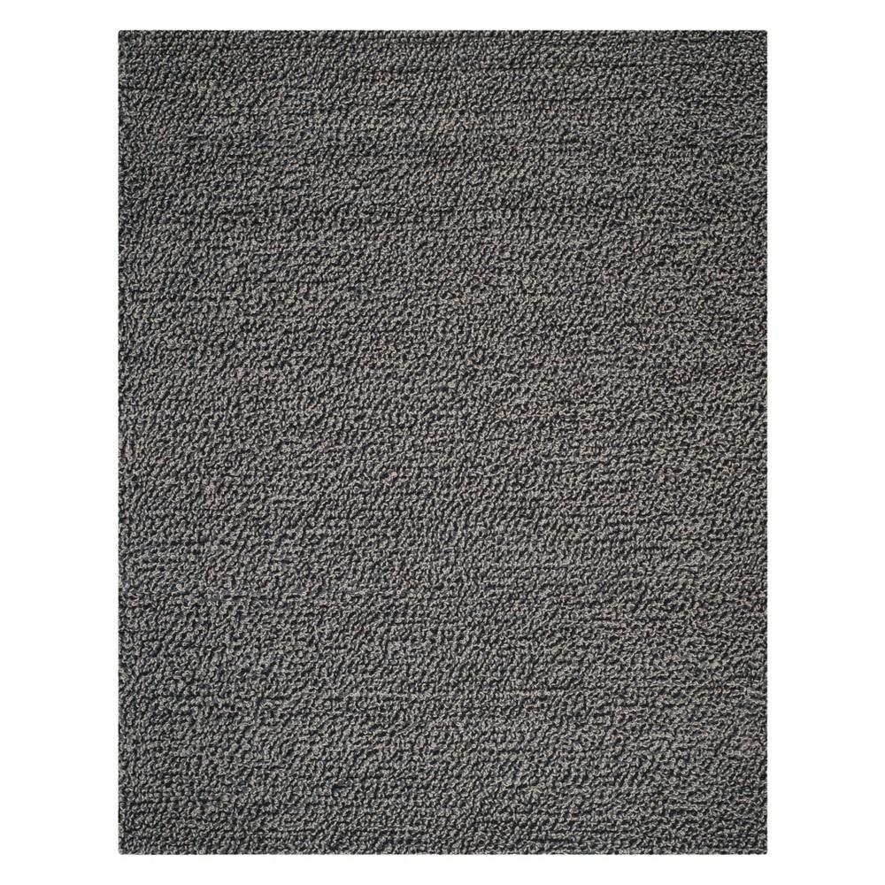 5'X8' Solid Area Rug Ash - Safavieh, Gray