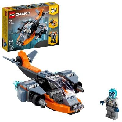 LEGO Creator 3in1 Cyber Drone 31111