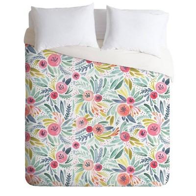 Dash and Ash Poppy Lane Comforter & Sham Set - Deny Designs