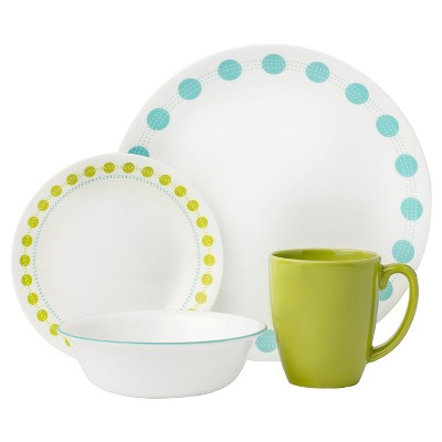 Corelle Livingware 16pc Dinnerware Set South Beach