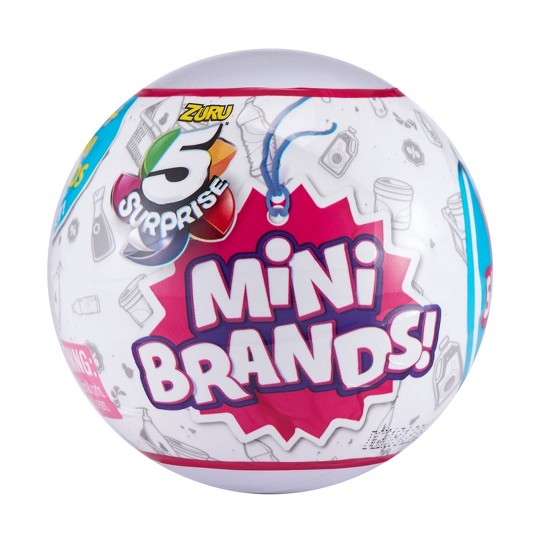 5 Surprise Mini Brands! Surprise Ball image number null