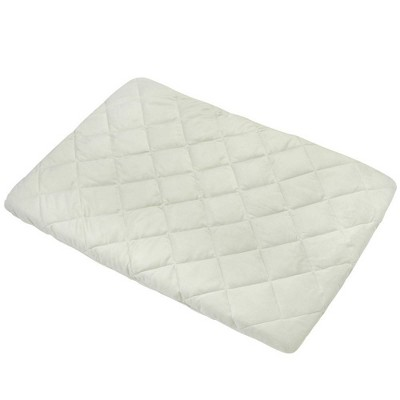 Carter's Quilted Plush Velboa Playard Sheet - Sage
