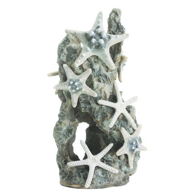 biOrb Sea Star Rock Ornament Aquarium Sculptures - Gray