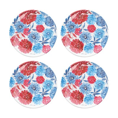 C&F Home 4th Of July Dessert Plate, Set of 4